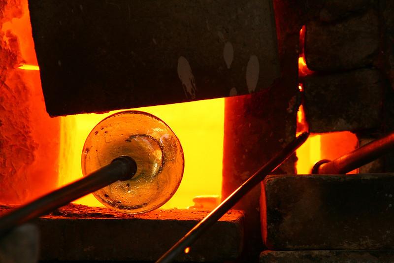 Glass making, Damascus