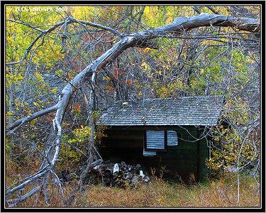 """IN A GHOST TOWN 2 "", Telegraph Creek, B.C., Canada-----""V MESTE DUCHU 2 ""."