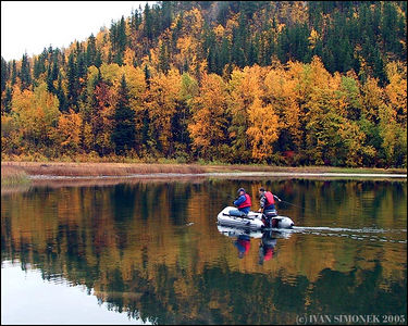 """FISHING AT SAWMILL LAKE #3"", B.C.,Canada-----""RYBARENI V JEZERU SAWMILL #3, B.K.,Kanada."