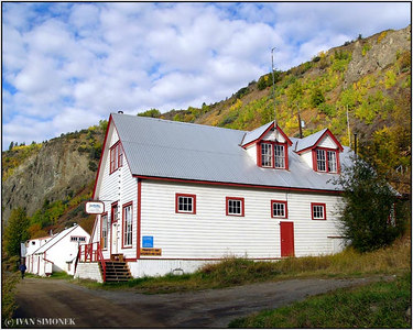 """STIKINE RIVER SONG LODGE"", Telegraph Creek, B.C., Canada."