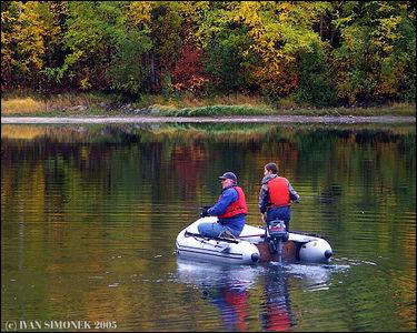 """FISHING AT SAWMILL LAKE #2"", B.C.,Canada-----""RYBARENI V JEZERU SAWMILL #2"", B.K.,Kanada."