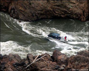 """WHITE WATER"", Chutine Warrior/Alaska Waters inside Grand Canyon of Stikine, B.C.,Canada.-----""DIVOKA VODA"", Chutine Warrior/Alaska Waters uvnitr Velkeho kanonu Stikine, B.K.,Kanada."