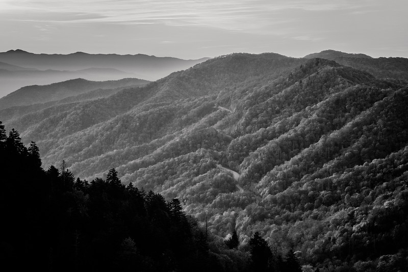 NEWFOUND GAP - GREAT SMOKY MOUNATAINS NP