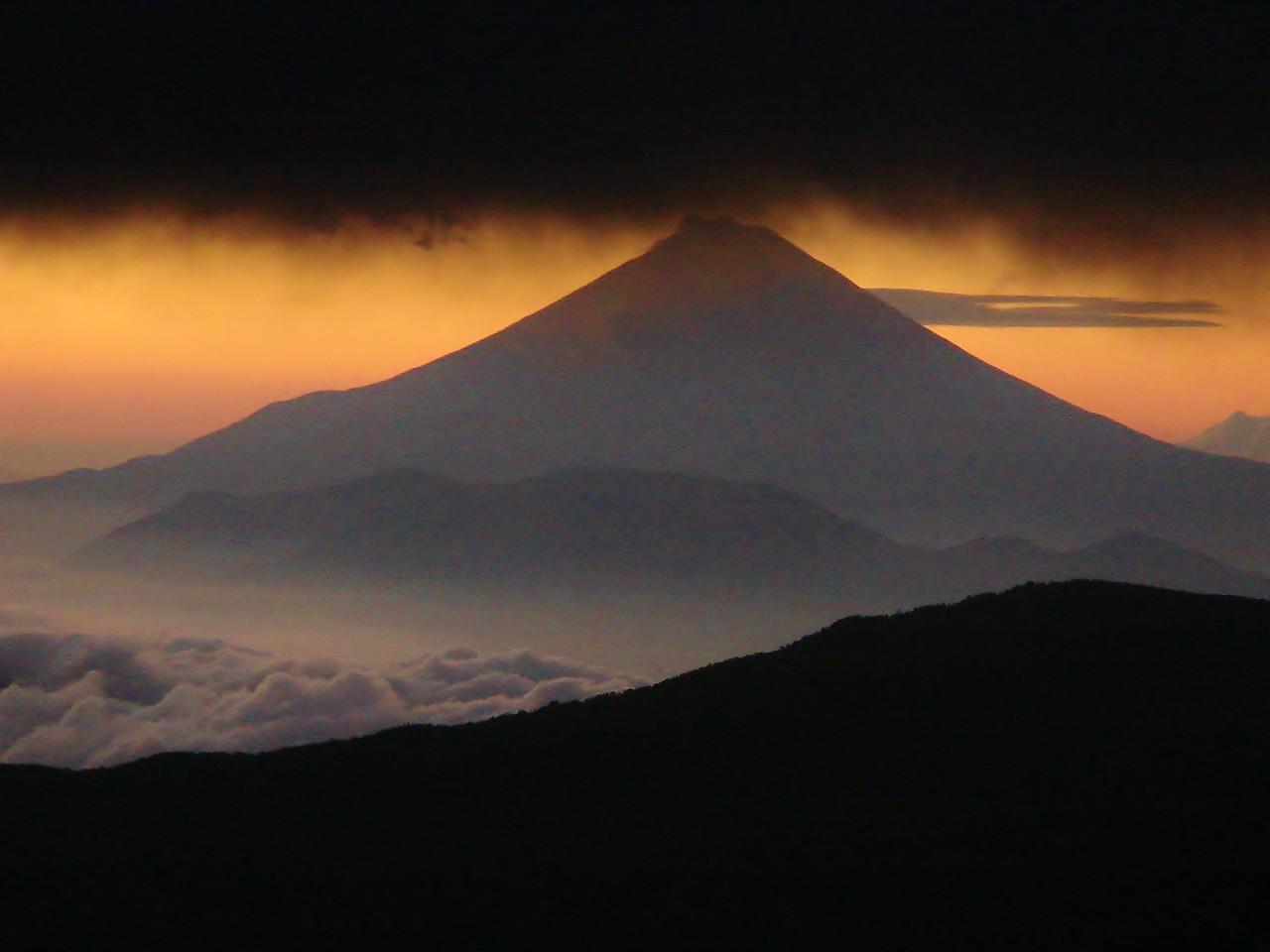 MOUNT FUJI FROM ARAKAWAGOYA