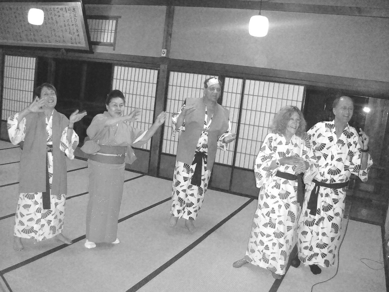 DANCING TO KARAOKE AT OUR INN