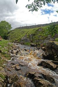 Mountain stream near Gods Bridge