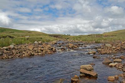 Mountain stream below Whernside