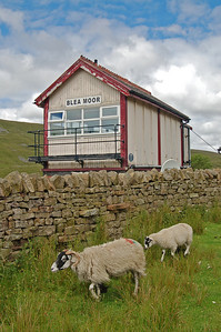 The remote signal box on Blea Moor