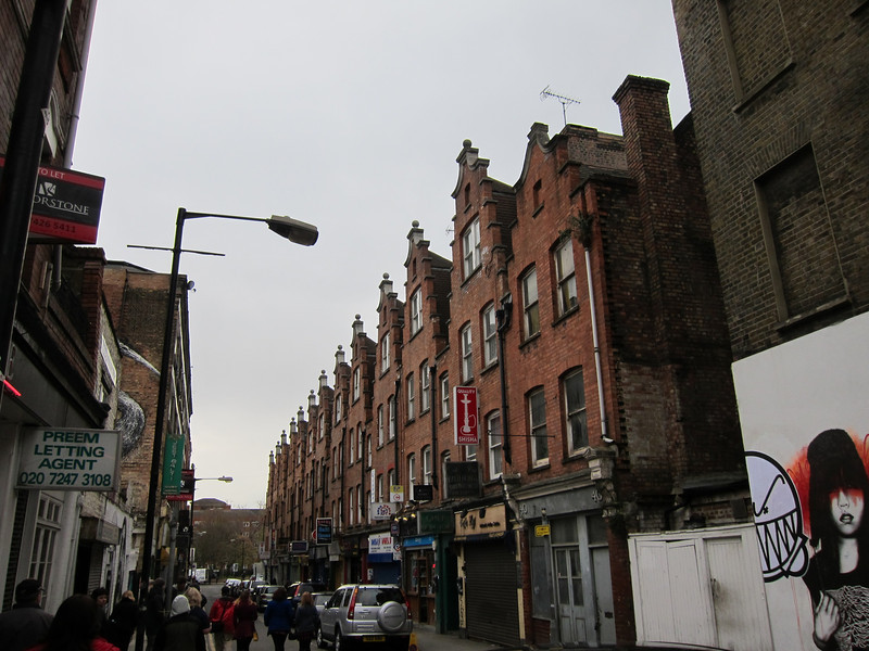Buildings from Jack the Ripper's time.