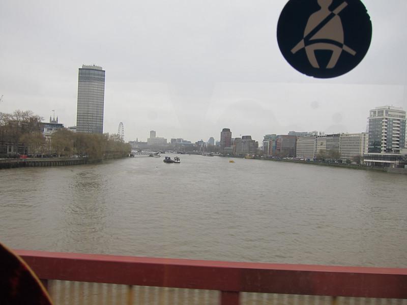 On Tower Bridge.