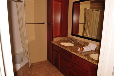 private bath off front bedroom unit 702