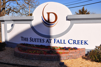 DRI The Suite's at Fall Creek enterance