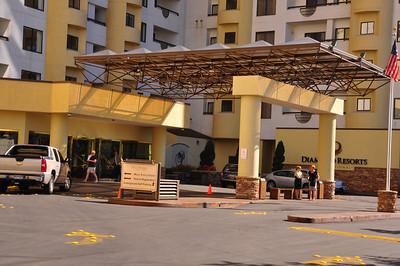 Front enterance/valet area