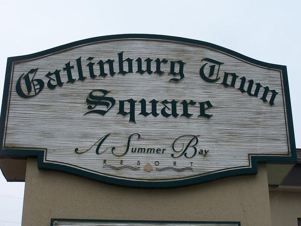 Gatlinburg Town Square June 2007