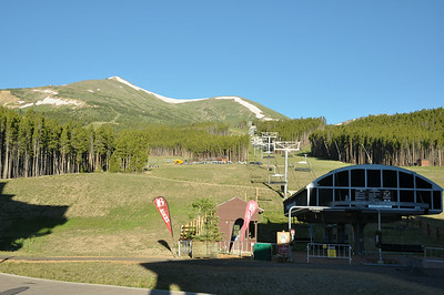 Super chair lift just outside the resort. This summer it's been running for scenic views.