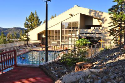 Clubhouse indoor/outdoor pool