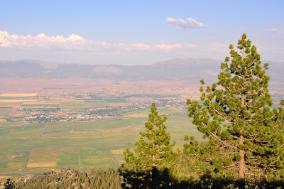 View of Carson Valley from The Ridge