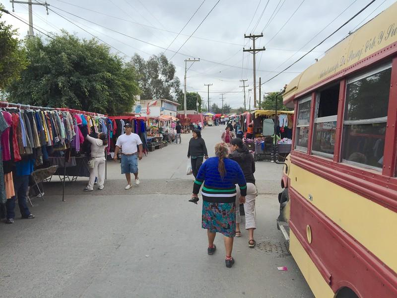 Saturday street market. So fun to wonder around.