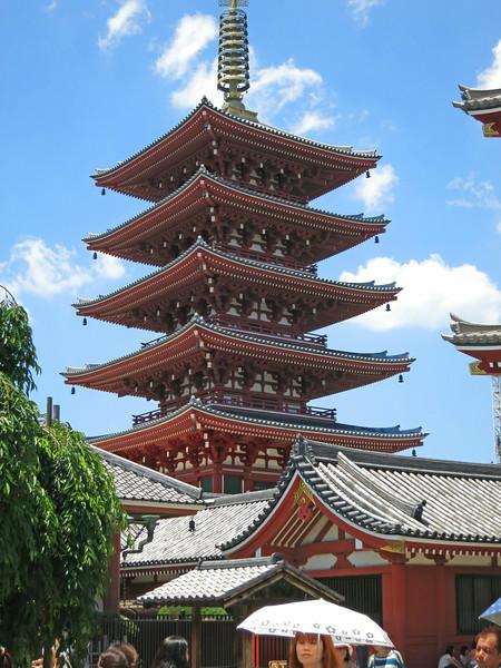 Gojūnotō, a 5-Story Pagoda