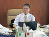 Prof. Seiichi Fujita in his office