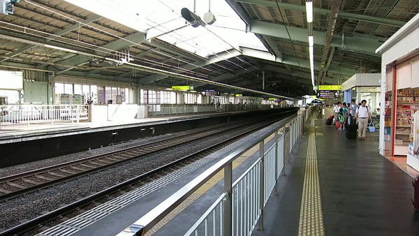 Bullet train from Shin-Kobe to Mount Fuji. Turn up the sound!