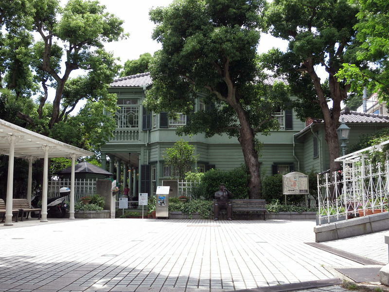 A house in Kobe's Ijinkan (foreigners' area) early 1900s