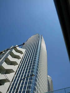 Another Mori Office Tower: Atago Green Hills, by Cesar Pelli, 2001. 42 stories, 187 meters.