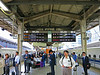 Tokyo Station, waiting for the 10 o'clock to Kyoto