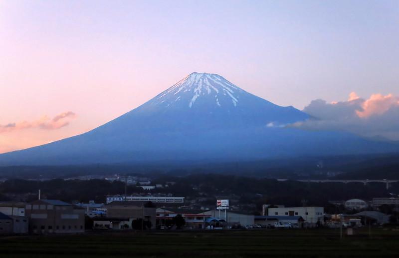 Mt. Fuji at 180 mph