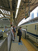 June 11, leaving Tokyo Station for Kyoto