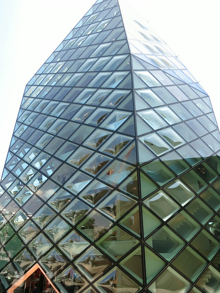 Prada, Herzog & De Meuron, 2003. Each bubble-shaped window cost $40,000.