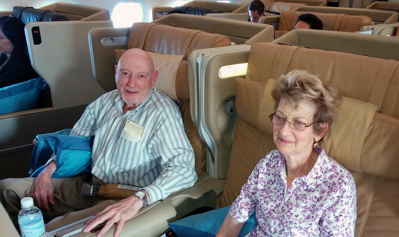 Onboard with Aliza, from Singapore to Tokyo, June 10, 2014