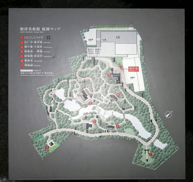 Nezu Museum site plan