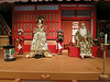 Authentic Kabuki characters and costumes