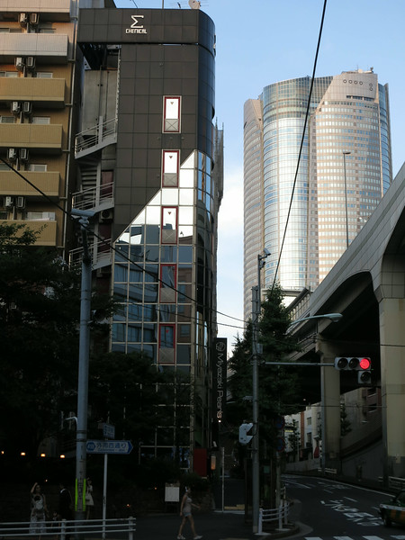 The Mori Tower Roppongi Hills, adjacent to Hyatt