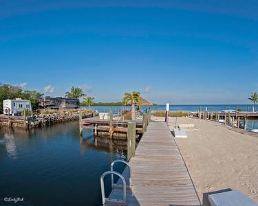 Grassy Key RV Resort.   Wonderful place to stay