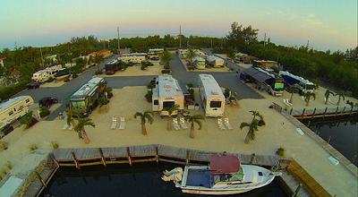 Our Florida SnowBird adventure begins - Year one - 2014 - Grassy Key RV Park
