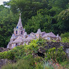 6/15 - Off to Guernsey. One of the beautiful Channel Islands<br /> <br /> The Little Chapel is possibly the smallest chapel in the world. It was built by Brother Déodat who started work in March 1914. His plan was to create a miniature version of the famous grotto and basilica at Lourdes in France. The Little Chapel is beautifully decorated with seashells, pebbles and colorful pieces of broken china. The guardianship of the Little Chapel now rests with Blanchelande Girls College which is run by a Charitable Trust