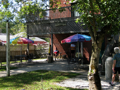Lunch at the Fig Leaf Cafe in Bean Blossom, Indiana.
