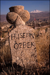 Grave marker • Turkey • 2005