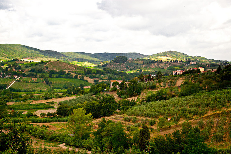 VIEW NEAR SAN GIMIGNANO