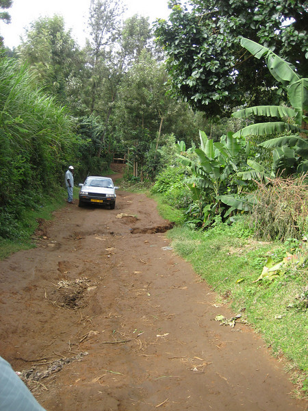 D16 drive to Mt Meru