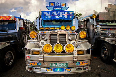 Famous Jeepney's in Philippines