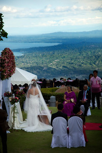 Wedding at Taal Lake
