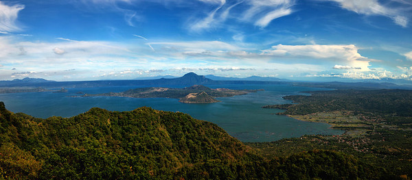Taal Lake, South of Manila