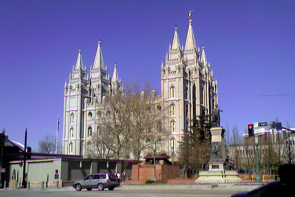 Tabernacle in SLC: March 17, 2007