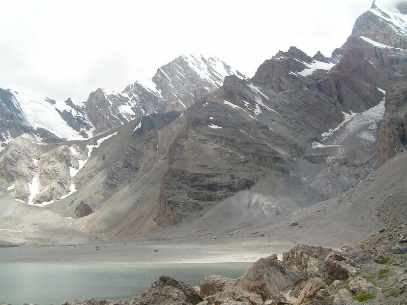 Lago a 4.000 metros de altura