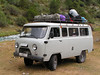 El autobús que nos subió hasta el Pamir desde Uzbekistan