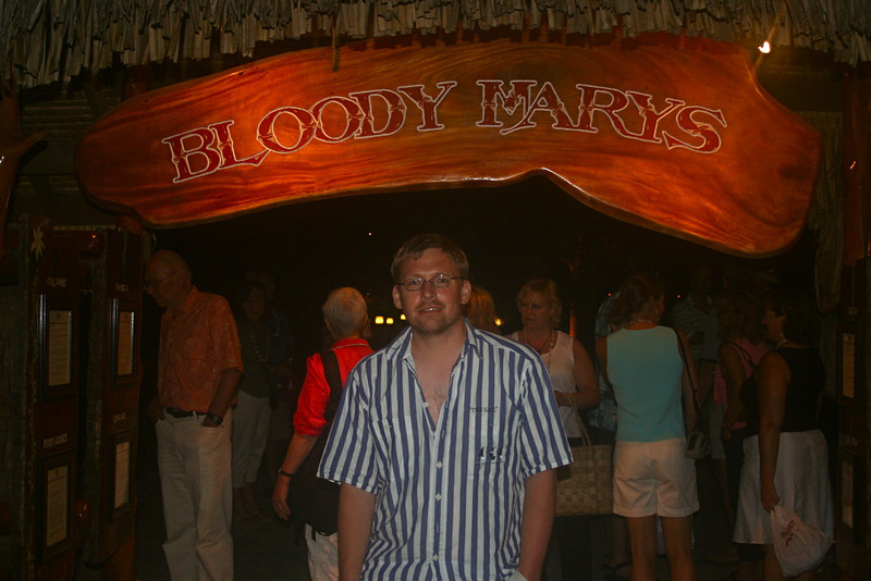 128-Guido in front of Bloody Mary's