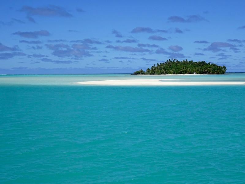 One-Foot Island, Aitutaki Reef Aitutaki Reef, Cook Islands